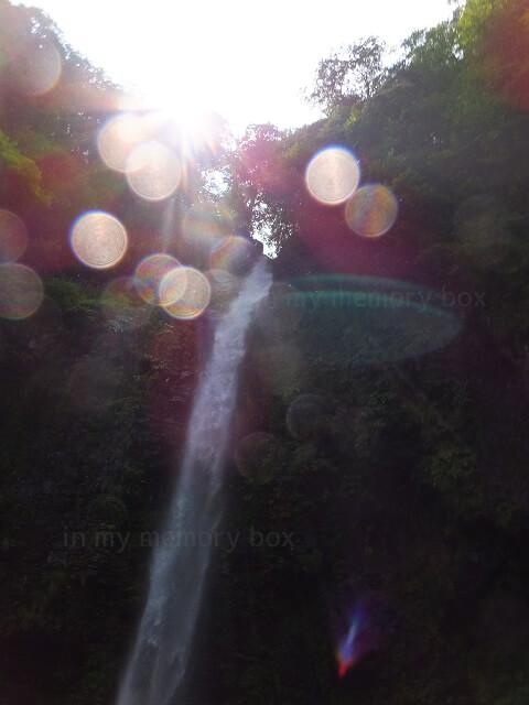 岐阜郡上市の阿弥陀ヶ滝の様子2