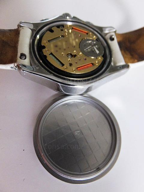 腕時計 電池 電池交換 スクリュー スクリュー式 自分で 交換 復活